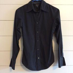Classic Black button up shirt